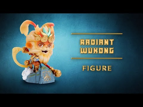 Radiant Wukong Figure Unboxing - 2017 Worlds Figure - League of Legends Merch