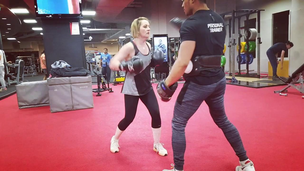 Kimberley: Kickboxing combinations
