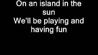 Island In The Sun- Weezer Lyrics Video