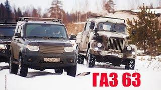ЛЕГЕНДА СССР против Современных внедорожников и БОЕВОЙ ВОЛГИ, на Танковом Полигоне.