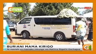 Buriani mama Mathira Rigathi Gachagua