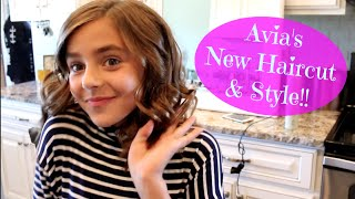 Avia's New Haircut & Style!!