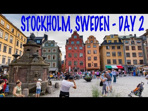 Family Trip to Stockholm, Sweden - Day 2