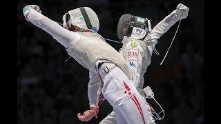 Saito (JPN) vs. Garozzo (ITA)- Semifinal World Fencing Championships Men