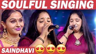 Masakali of Madras SAINDHAVI Singing AR Rahman song in Tribute to Legend P. Susheela