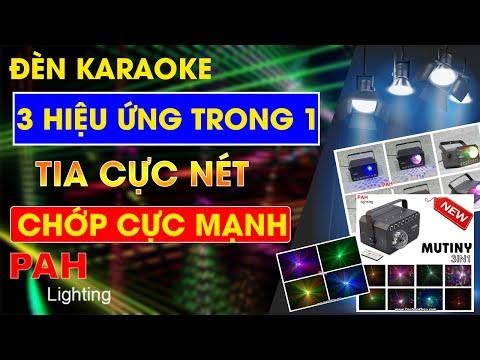 Đèn karaoke giá rẻ Mutiny với kiểu dáng hiện đại bắt mắt