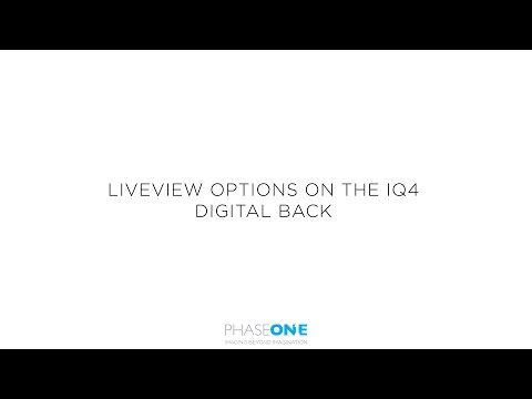 Support | Live view tools on the IQ4 | Phase One
