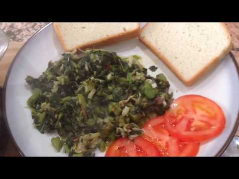 Jamaican Callaloo And Salt Fish/Codfish