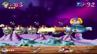 Rayman 1: Part 19: Space Mama's Crater (All Electoon Cages)