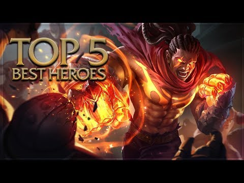 Arena of Valor - Top 5 Best Heroes