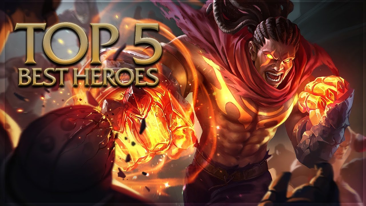 Arena Of Valor Top 5 Best Heroes YouTube