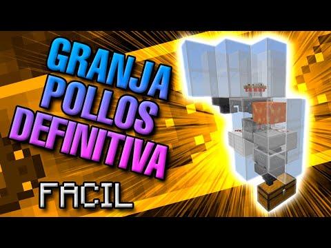 GRANJA DE POLLOS DEFINITIVA Y FÁCIL | Minecraft 1.16.2