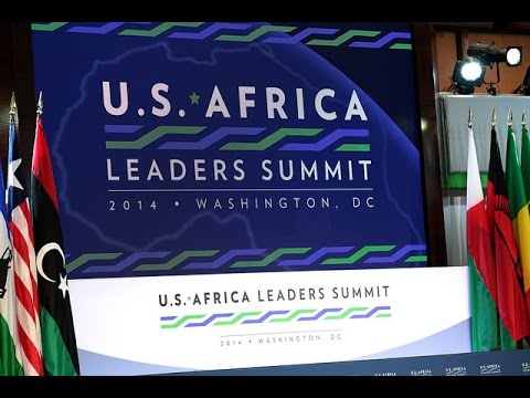 President Kagame at the US Africa Business Forum- Washington DC, 5 August 2014