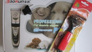 Посылки с Aliexpress. Колтунорез и машинка для стрижки кошек и собак