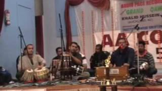 KHALID HUSSEIN FIJI ARTIST live in concert auckland  JAG LAL LAL