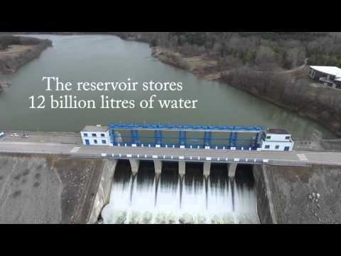 Traverse the Thames Highlight Video #1: The Fanshawe Dam