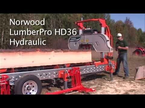 Norwood LumberPro HD36 Hydraulic Portable Band Sawmill - Part 2