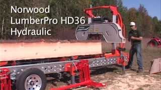 Norwood Lumberpro Hd36 Hydraulic Portable Band Sawmill - Part 2