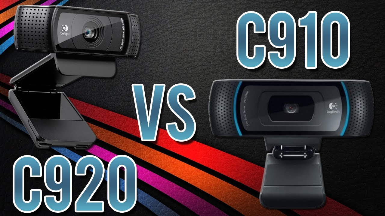 Logitech C920 Vs C910 Quality Comparison 1080p Youtube