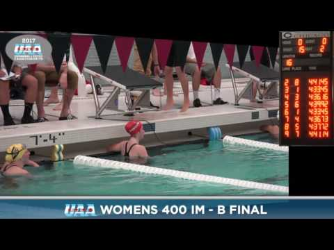 2017 UAA Swim/Dive Conf. Champs - Fri Dive Finals part 2
