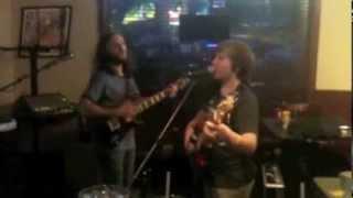 Ian & Sky Schumacher at Bench Warmers, 8/7/13