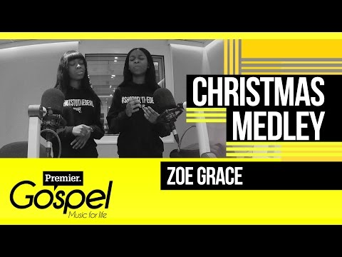 Zoe Grace Perform A Christmas Medley // Gospel Drive With Lady T