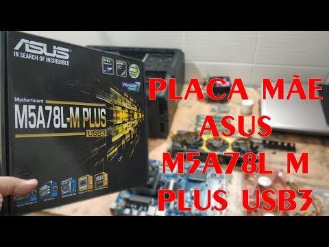 PLACA MÃE ASUS M5A78L M PLUS USB3