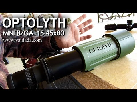 What is the BEST Collapsible Spotting Scope? (1080HD) Rex Reviews the OPTOLYTH MINI B/GA 15-45x80