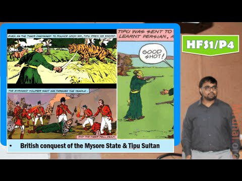 HFS1/P4: British conquest of the Mysore State, Tipu Sultan, Treaty of Srirangpattinam