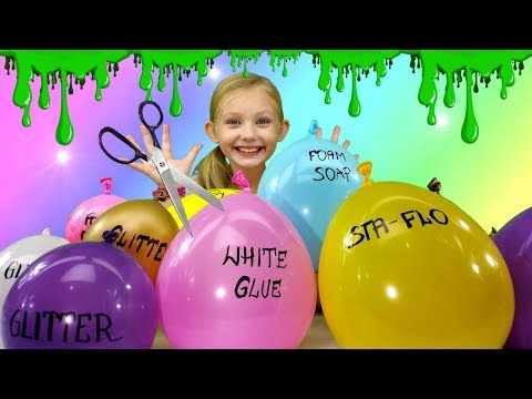 Making slime with balloons diy slime balloon tutorial today we are making viral slime with balloons youll learn how to make the most satisfying do it yourself slime with balloons please try to guess which ccuart