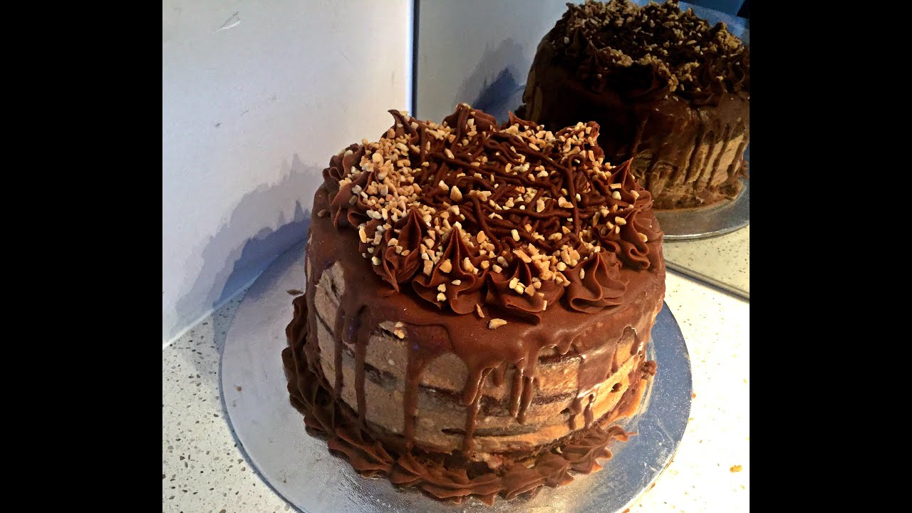Snickers Kuchen Torte Snickers Torte - Youtube