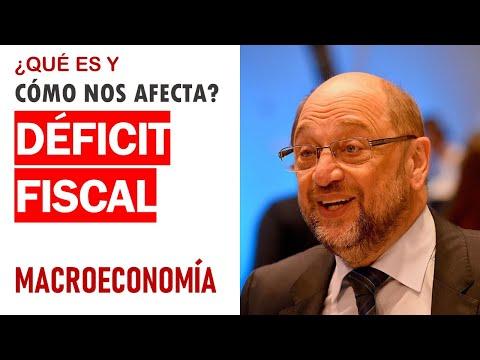 Déficit fiscal: ¿qué es y cómo nos afecta?