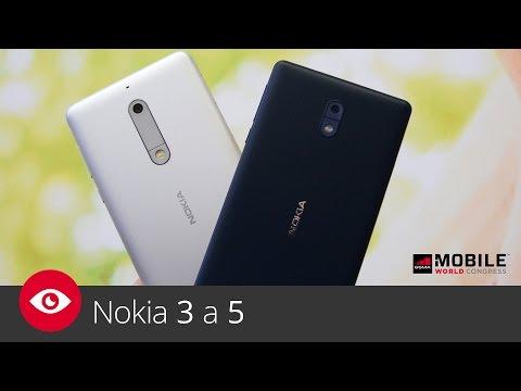 Nokia 3 a 5 (MWC 2017)
