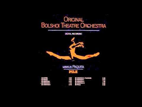 Paquita - Original Bolshoi Orchestra
