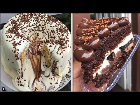 extra-chocolate-cake-decorating-tutorial-|-easy-and-delicious-chocolate-cake-decorating-ideas-#1
