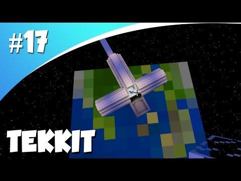 ISS RUIMTESTATION MAKEN!  (Minecraft Tekkit #17)