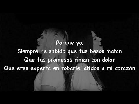 Besos en Guerra - Karen Méndez ft. Cris Moné (LETRA)