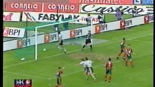 30J :: Sporting - 4 x Maritimo - 0 de 2001/2002