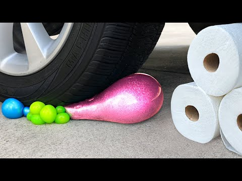 Crushing Crunchy & Soft Things by Car Glass, Piano, Pop Tarts, Stress Ball and More! CAR VS THINGS