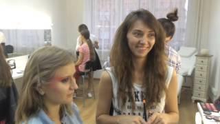 Итоговый урок визажистов июль 2015 Beauty School Perm