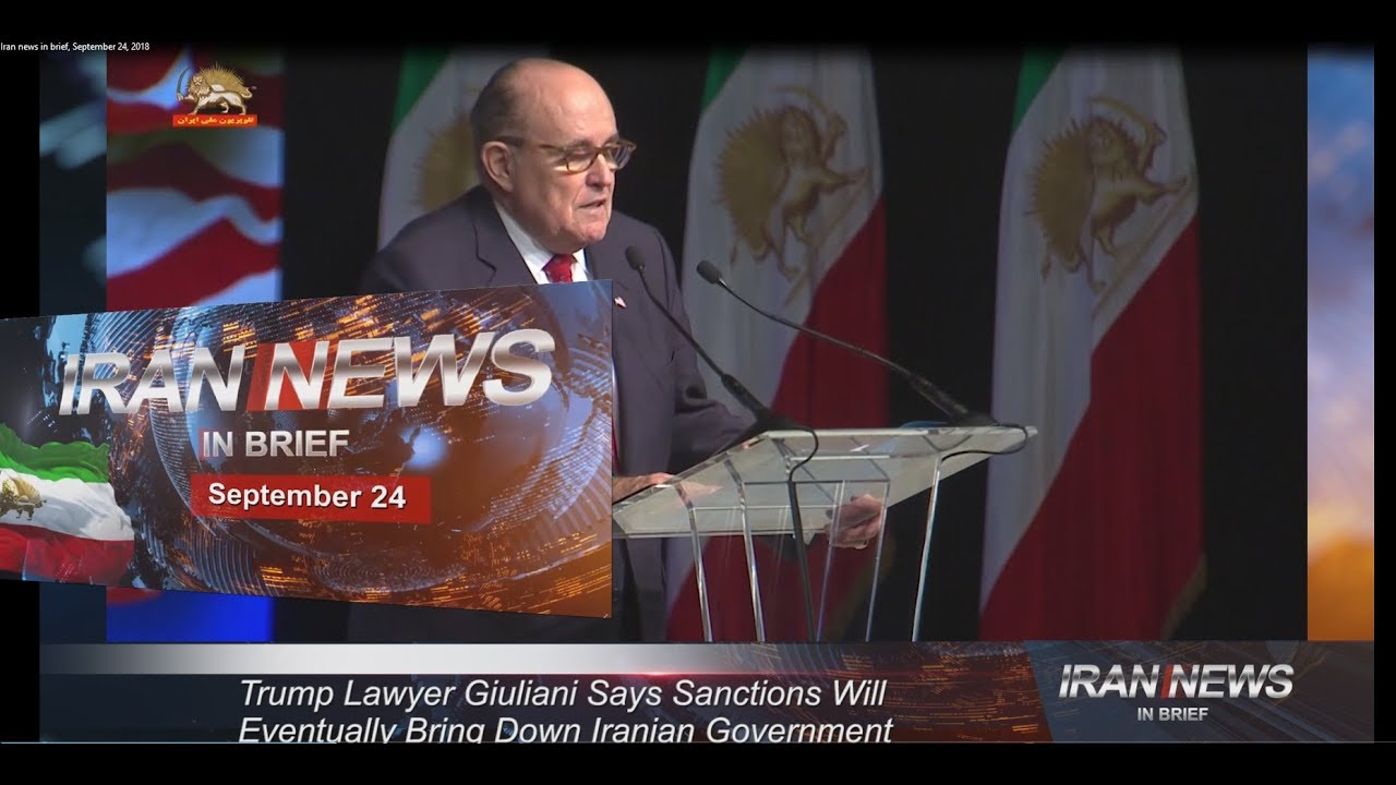 Iran news in brief, September 24, 2018