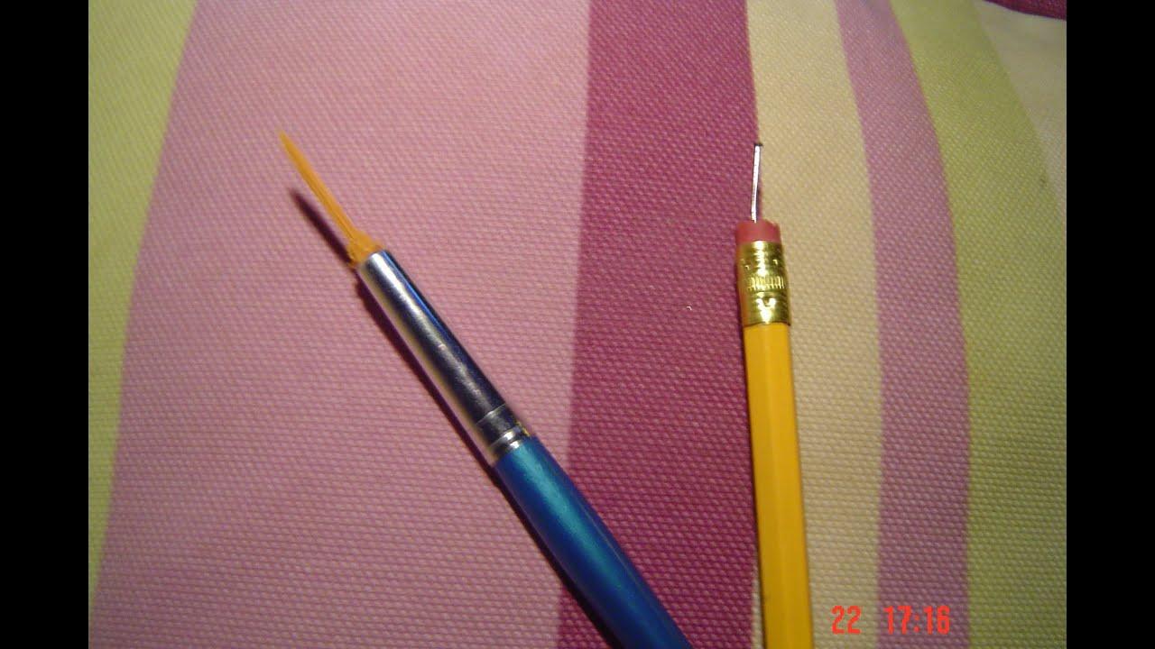 Como Crear Herramientas Y Pinceles Para Nail Art 3