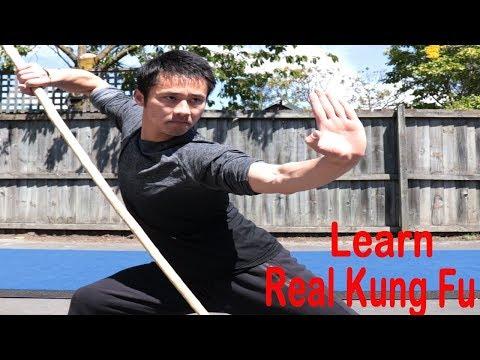 Shaolin Kung Fu Wushu Basic Bo Staff Training Session 3