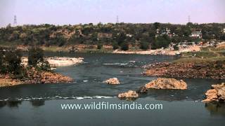 Narmada river at Bhedaghat, Jabalpur