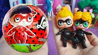 Apriamo 3 LOL Surprise FAKE di Miraculous Ladybug [Unboxing italiano]