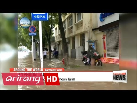 China braces for Typhoon Talim