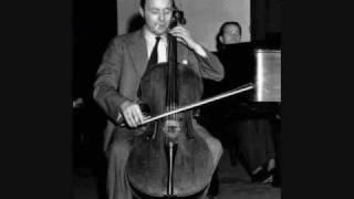 Emanuel Feuermann plays and speaks on the Kraft Music Hall