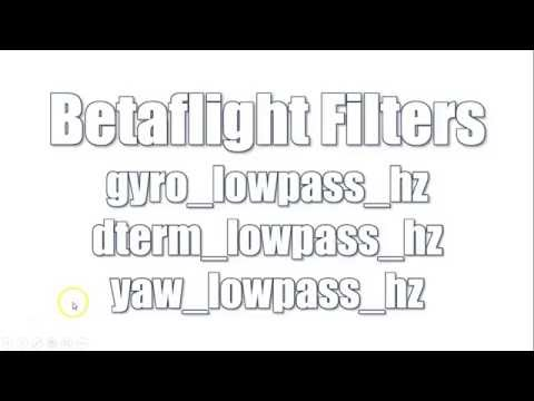 Betaflight Soft Filters Explained