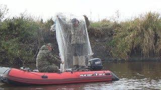 Рыбалка Осенью На Кастинговую Сеть