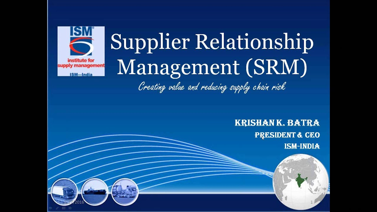wikipedia supplier relationship management